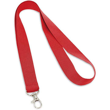 Picture of 20Mm Red Polyester Lanyard X 12 Pieces