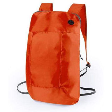 Picture of 210D Polyester Soft Foldable Backpack Orange