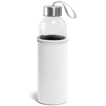Picture of 520 Ml Glass And Stainless Steel Sports Bottle With Cover