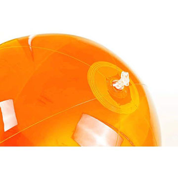 Picture of Beach Ball In Transparent Pvc