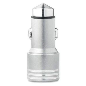 Picture of Car Charger In Aluminium With Emergency Hammer