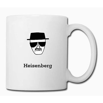 """Picture of Ceramic White Mug With Breaking Bad Quote""""Heisenberg"""""""