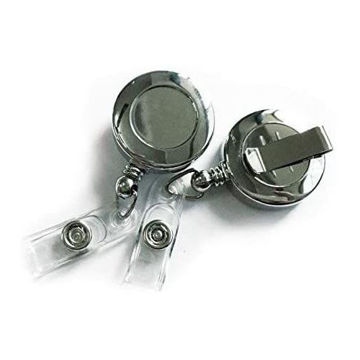 Picture of Chrome Plated Badge Reel X 10 Pieces