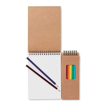 Picture of Colouring Set With 24 Pages & 8 Colouring Pencils