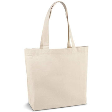 Picture of Cotton Canvas Beach Tote Bag 280g