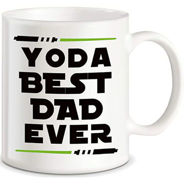Picture of Dad Mugs For Father's Day Ceramic Coffee Mug White
