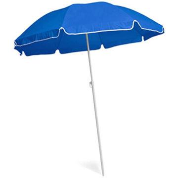 Picture of Dia 140Cm Blue Colour Beach Umbrella, 170T Material