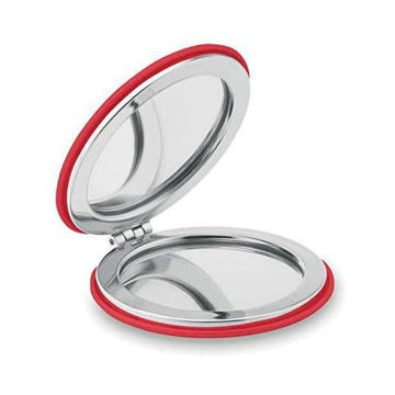 Picture of Double Magnetic Mirror In Round Shape With Pu Cover