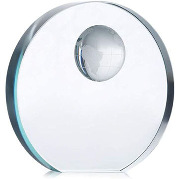 Picture of Elegant Round Trophy Made In Glass,7 Cm