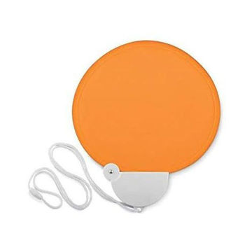 Picture of Foldable 190T Polyester Fan With Hanging Cord And Safety Buckle