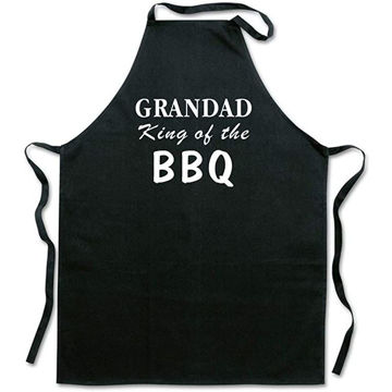 Picture of Grandad King Of The Bbq Apron, Father Day Gift