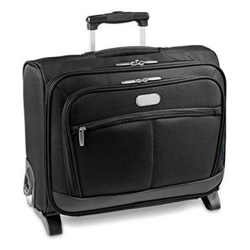 Picture of Heavy Quality Imitation Leather 15.6 Inch Laptop Trolley Bag