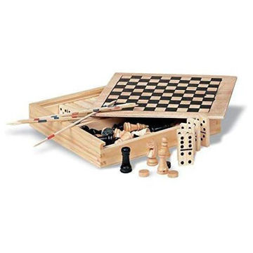 Picture of Mini Wood Board Game Box