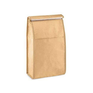 Picture of Paper Cooler Bag, Lunch Bag With Front Pocket