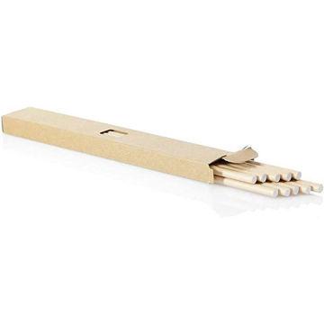 Picture of Paper Straws 50 Pcs - Set of 5x10pcs