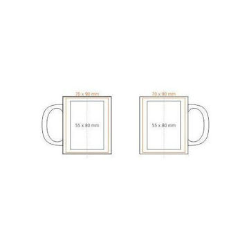 Picture of Personalized Mug With Photo & Text White Ceramic 11Oz