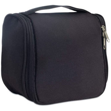 Picture of Polyester Cosmetic Hanging Bag Black