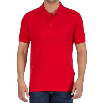 Picture of Round Neck T-Shirt Red