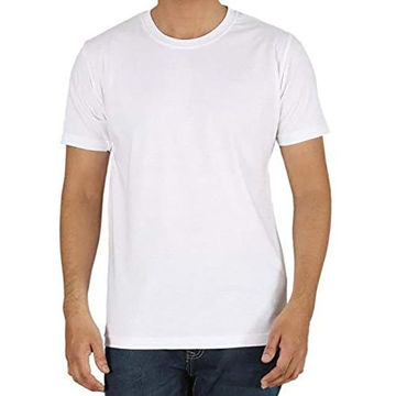 Picture of Round Neck T-Shirt White