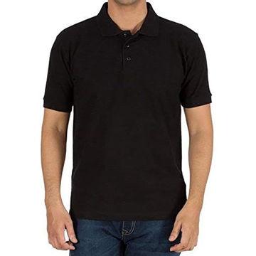 Picture of Sandhu Black Shirt Neck T-Shirt For Unisex