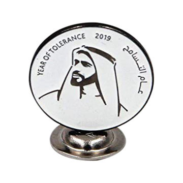 Picture of 2019 Year Of Tolerance Metal Pin, Pack Of 5 Pieces