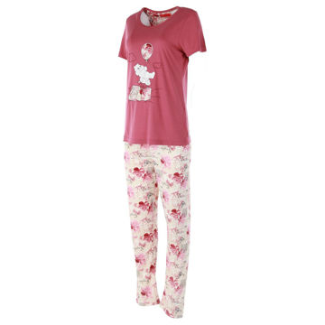 Picture of Joanna Bear with Balloon Ladies Pajama Set of 12 Pcs, Assorted Color & Size