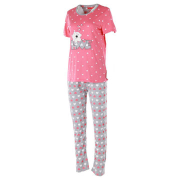 Picture of Joanna Bear Themed Ladies Pajama Set of 12 Pcs, Assorted Color & Size