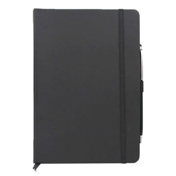 Picture of A5 Soft Pu Cover Notebook With Stylus Ball Pen