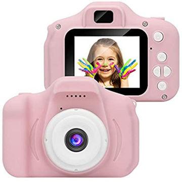 Picture of Metermall Kids Digital Video Camera Camcorder, Pink