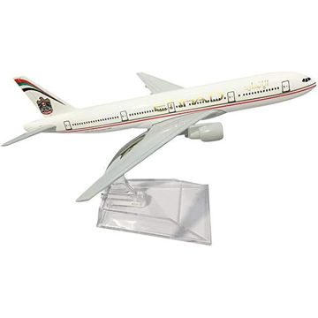 Picture of Etihad Airlines Boeing B777 Airplane Model, 16 cm