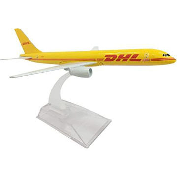 Picture of DHL Aviation Airplane Aircraft Model, 16 cm