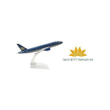 Picture of Vietnam Airlines B777 Airplane Model, 16 cm