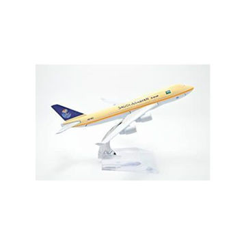Picture of Tang Dynasty Saudi Arabian Airlines Boeing B-747 Airplane Model, 16 cm