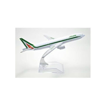 Picture of Tang Dynasty Alitalia Boeing B777-200 Airplane Model, 16 cm