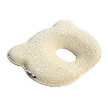 Picture of Infant Baby Memory Foam Cotton Pillow, Beige