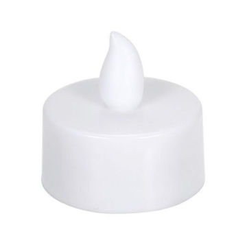 Picture of LED Flame Flickering Effect Candle Light, 12 pcs, White