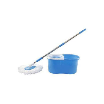 Picture of 360 Degree Rotating Mop with Bucket, Blue & White