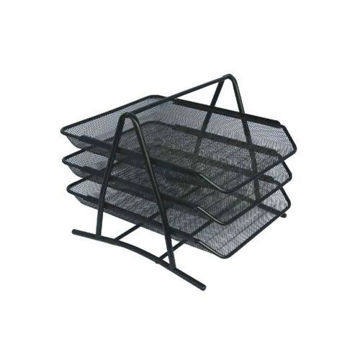 Picture of 3-Tier Multi Functional Paper Tray, Black