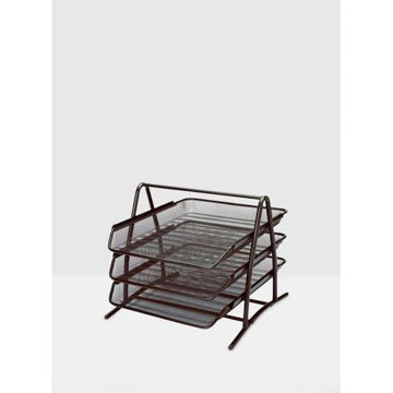 Picture of 3-Tier Premium Quality Paper Tray, Black