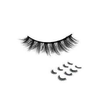Picture of False Eyelashes, L06, Black, 8 pcs