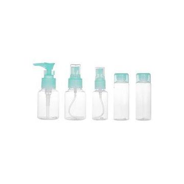 Picture of Empty Spray Bottle Set, Blue/Clear, 5Pcs