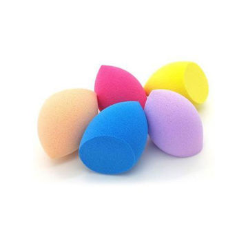 Picture of Foundation Sponges, Red/Pink/Blue, 5Pcs