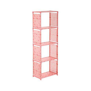 Picture of 5-Tier Sturdy Base Storage Rack, Pink