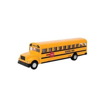 Picture of Pull Back Diecast School Bus Model, 6inch