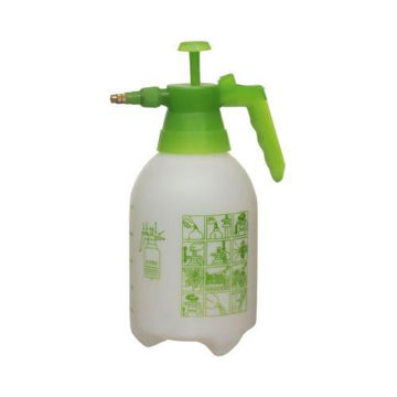 Picture of Spray Pump Bottle, White/Green, 2Litre