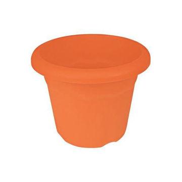 Picture of Terracotta Flower Pot, 22 cm, Orange