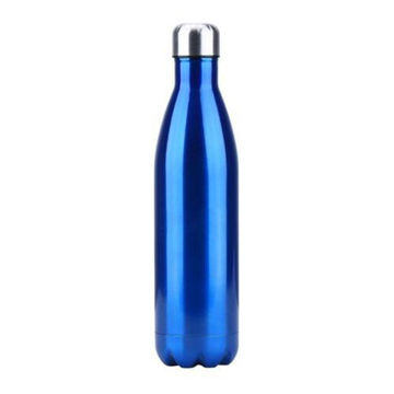 Picture of Thermal Insulated Water Bottle, Blue/Silver