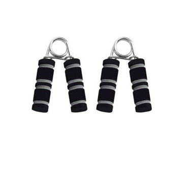 Picture of Soft Grip Hand Strengthener, 2 pcs, Black & Silver