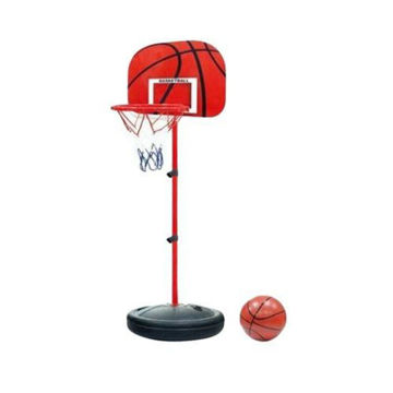 Picture of Adjustable Basketball Hoop & Support Set for Kids