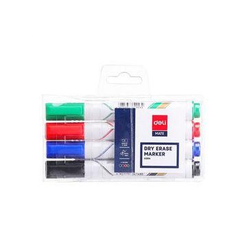 Picture of Dry Erase White Board Marker Set, Multicolour - Set of 4